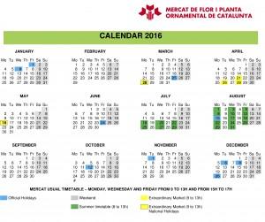 CALENDAR 2016 ENG
