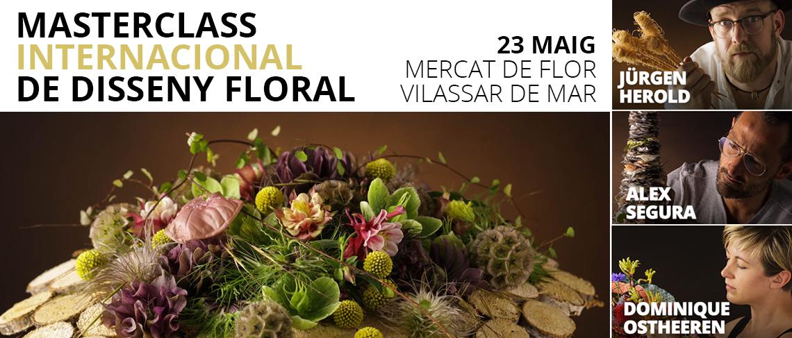 Masterclass Internacional Disseny Floral