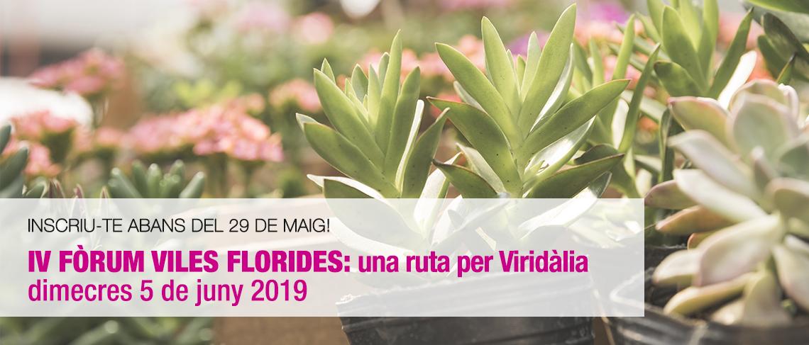 IV Fòrum Viles Florides